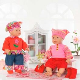 Patron habits de poupée - Burda 7903