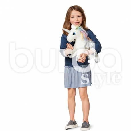 Patron de cheval & licorne - Burda 6495