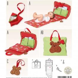 Patron sac à langer bébé - Burda 6623