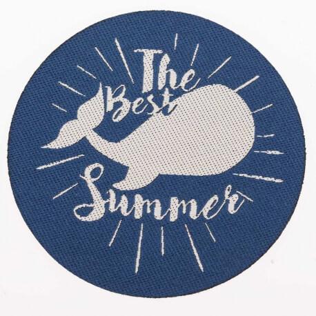 Ecusson summer - Baleine