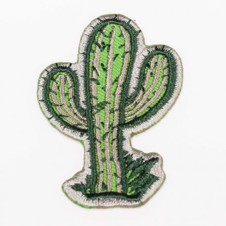 Ecusson cactus - Vert