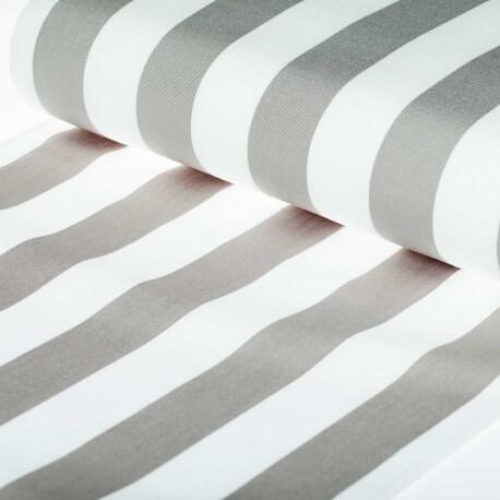 toile transat outdoor bayad re 150cm x 43cm gris blanc. Black Bedroom Furniture Sets. Home Design Ideas