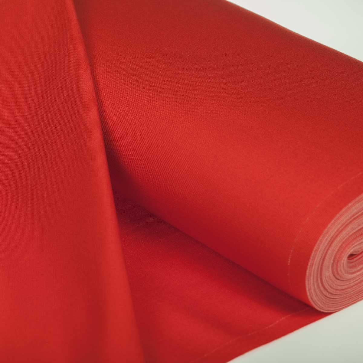 toile sp cial transat uni rouge largeur 43cm. Black Bedroom Furniture Sets. Home Design Ideas