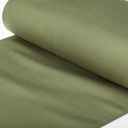 Tissu toile d'extérieur transat - Largeur 45cm - Vert kaki