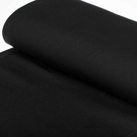 Tissu toile d'extérieur transat - Largeur 45cm - Noir