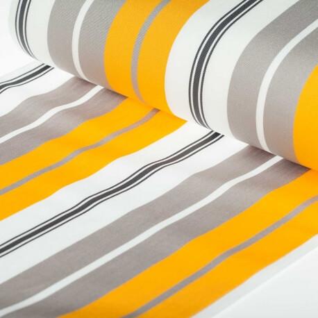 toile transat outdoor bastia 150cm x 43cm gris jaune mercerie car fil. Black Bedroom Furniture Sets. Home Design Ideas