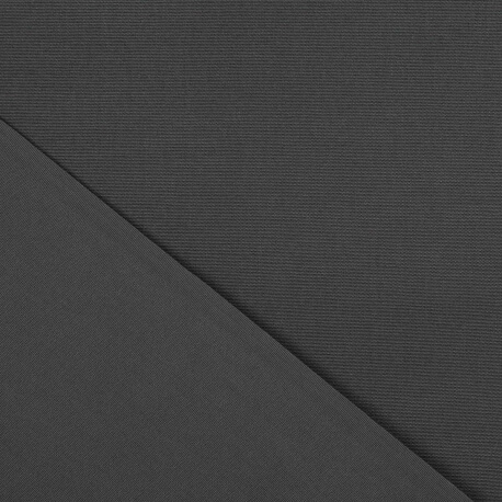 toile outdoor tissu sunny uni largeur 160cm gris anthracite. Black Bedroom Furniture Sets. Home Design Ideas