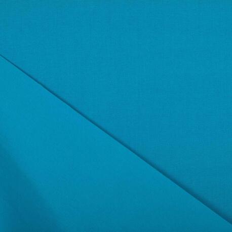 Tissu toile d'extérieur - Largeur 160cm - Bleu piscine
