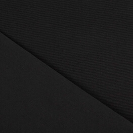 Tissu toile d'extérieur - Largeur 160cm - Noir