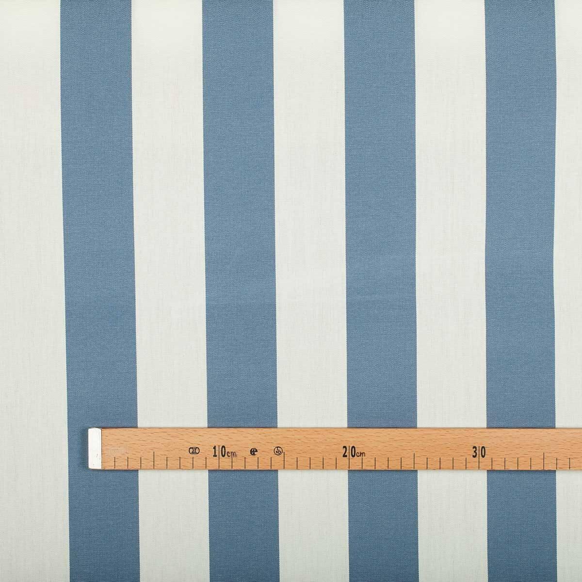 toile tissu d 39 ext rieur pour transat bleu blanc largeur 160cm. Black Bedroom Furniture Sets. Home Design Ideas