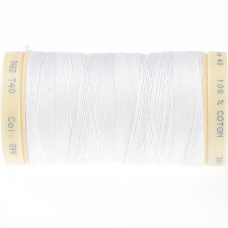 Fils câblé 350m blanc - Taille 40 et 50
