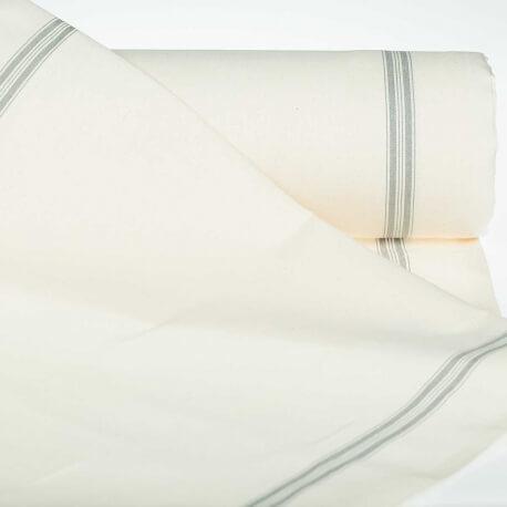 Tissu pour torchon pur coton - Gris