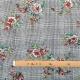 Tissu à carreaux & fleurs - Classique multicolore