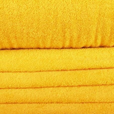 Tissu éponge - Jaune sunshine