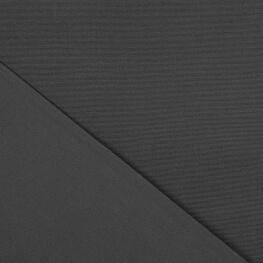 Tissu toile d'extérieur - Largeur 320cm - Gris anthracite