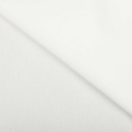 Tissu ameublement uni - Largeur 280cm - Blanc