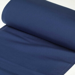 Tissu toile d'extérieur transat - Largeur 43cm - Bleu marine