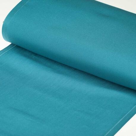 Tissu toile d'extérieur transat - Largeur 43cm - Bleu piscine