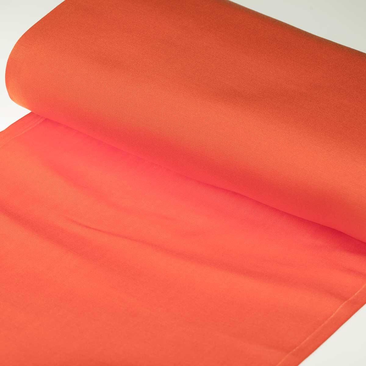 toile tissu d 39 ext rieur pour transat orange largeur 43cm. Black Bedroom Furniture Sets. Home Design Ideas