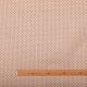 Tissu coton enduit éventails - Rose