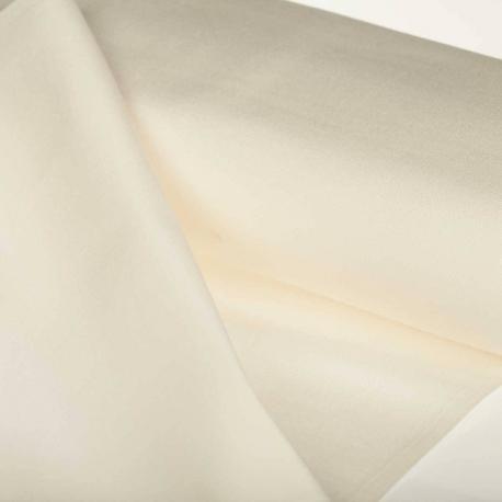 Toile outdoor tissu uni - Largeur 160cm - Ecru