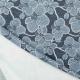 Tissu orchidée scintillante - Bleu & argenté