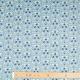 Tissu velours milleraies bird & flowers - Bleu