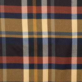 Tissu écossais tartan - Gris & rose clair