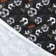 Tissu jersey football - Noir