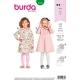 Patron robe enfant, Burda 9332