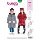 Patron veste enfant, Burda 9334