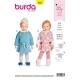 Patron robe bébé, Burda 9327