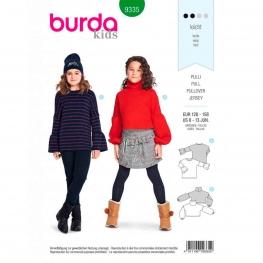 Patron pull enfant, Burda 9335