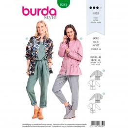 Patron veste femme, Burda 6379