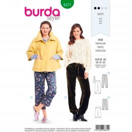 Patron pantalon femme, Burda 6371