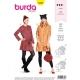 Patron robe femme, Burda 6353