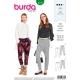 Patron pantalon femme, Burda 6358