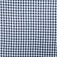 Tissu vichy - Bleu Marine & blanc