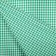 Tissu vichy - Vert et blanc