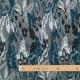 Tissu jacquard fantaisie - Bleu