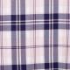Tissu écossais tartan - Rose & bleu marine