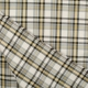 Tissu écossais tartan - Gris, jaune & noir