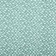 Tissu coton zig zag - Vert dusty mint