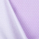 Tissu coton mini étoiles - Parme & blanc
