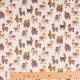 Tissu coton happy lama - Multicolore