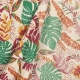 Tissu coton palm jungle - Multicolore