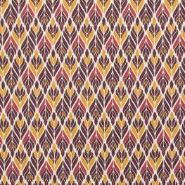 Tissu coton ravissant charmille - Prune & cannelle