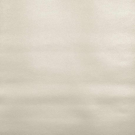 Coupon simili cuir uni, 50 x 140 cm - Argenté
