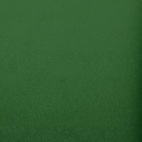 Coupon simili cuir uni, 50 x 140 cm - Vert gazon