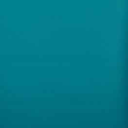 Coupon simili cuir uni, 50 x 140 cm - Bleu canard